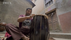 Making a Nepali Drum with Shekhar Kulu Nepali