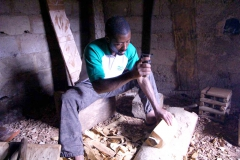 The Charcoal Maker in Miwsake, Cameroon